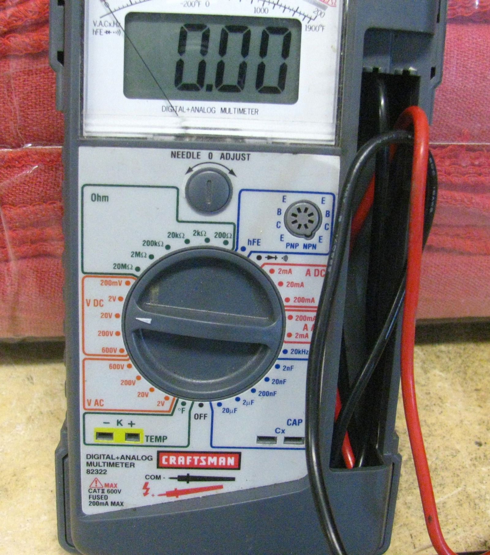 typical multi-meter