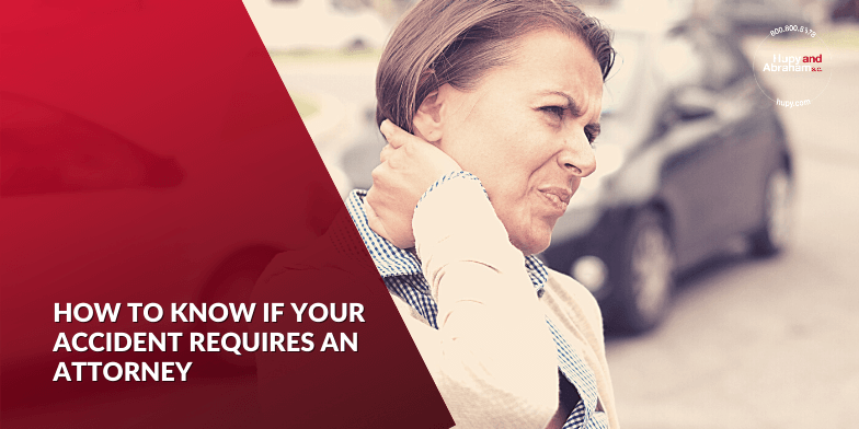 how to know if your accident requires an attorney