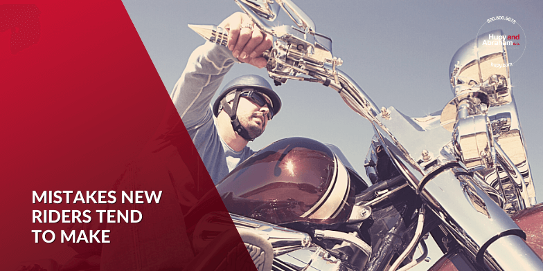 Common Mistakes New Motorcycle Riders Make
