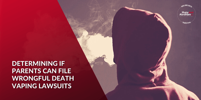 wrongful death lawsuit against JUUL or vaping manufacturer