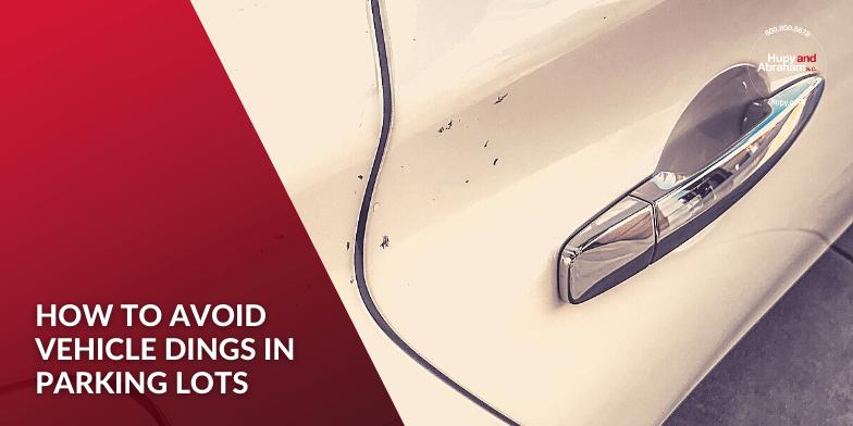 How to avoid door dings in parking lots.