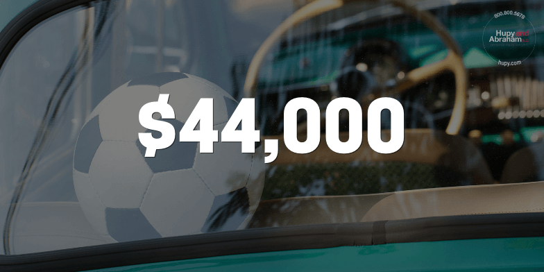 $44,000 After Out-Of-State Accident