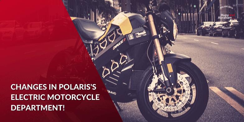 Polaris Restructures Leadership Around Electric Motorcycles