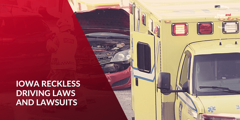 Iowa Reckless Driving Accident Recoveries