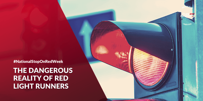 Danger of red light runners