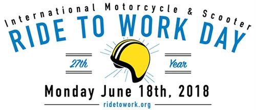 International Motorcycle Ride To Work Day