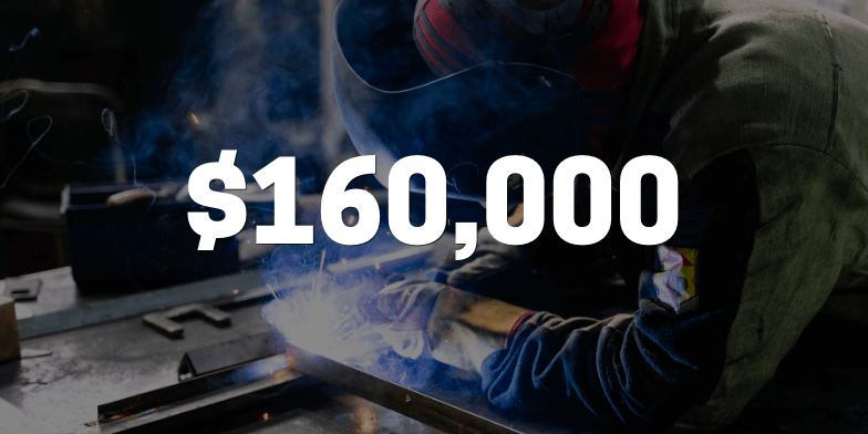 $160,000 For Injured Construction Worker
