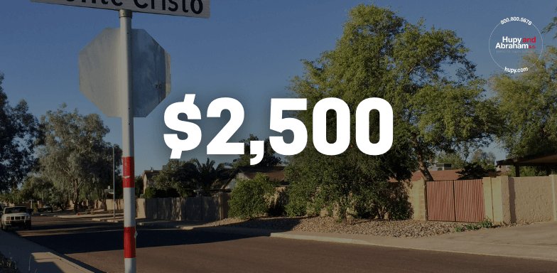 Uninsured Driver Accident Leads To $2,500 Settlement