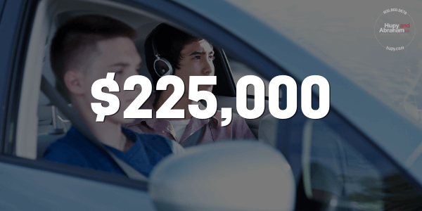 $225,000 For Passenger That Suffered Multiple Injuries In An Accident