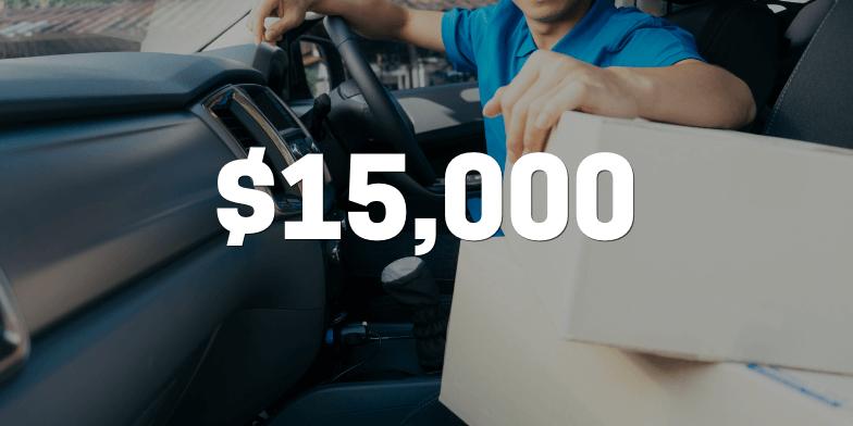 Settlement of $15,000 for client struck by an uninsured motorist.