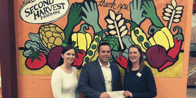 Second Harvest Foodbank Thanks Us for Holiday Donation