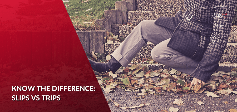 What's the Difference Between Trips, Slips and Falls?