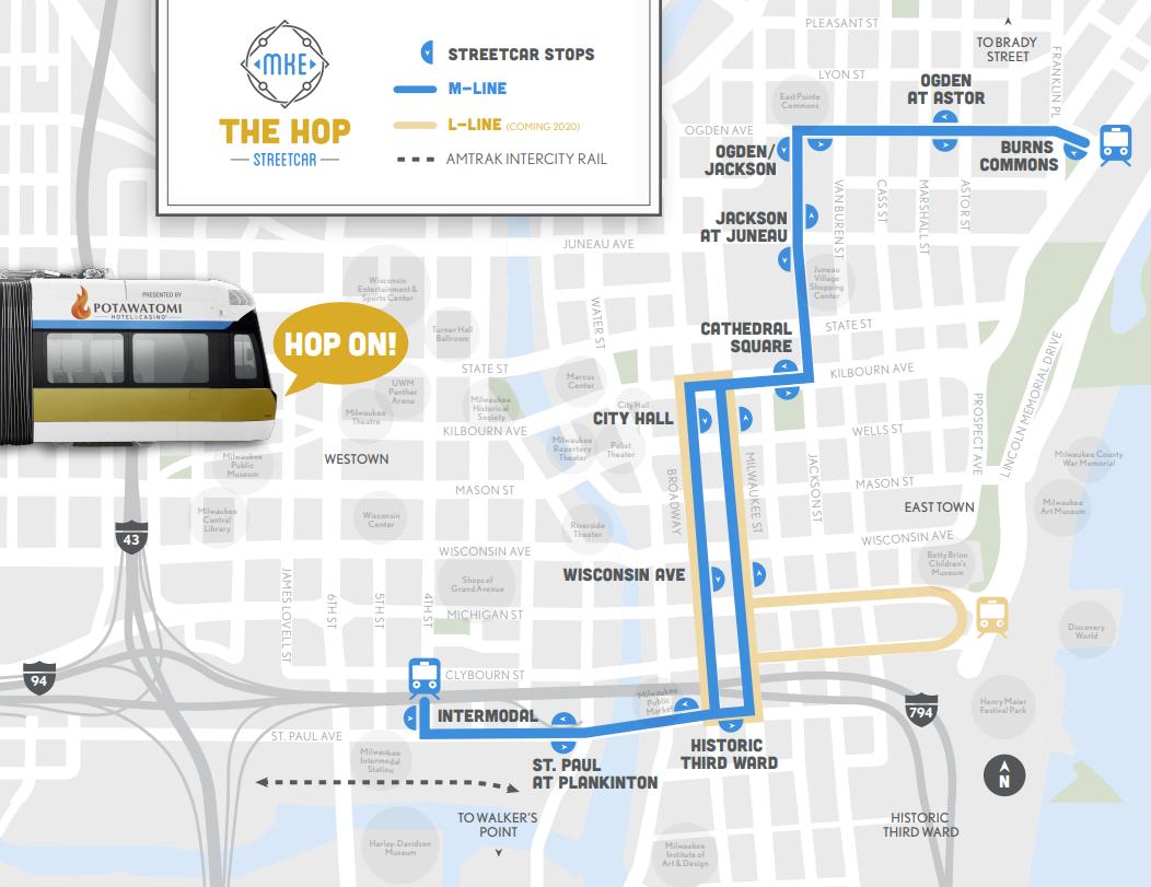 streetcar map