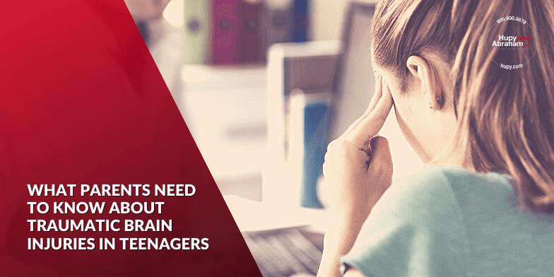 Traumatic Brain Injuries in Teens