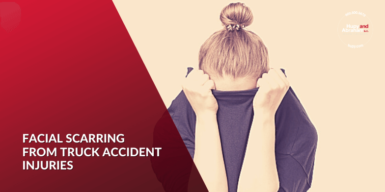 Truck Accident Facial Scar Injuries