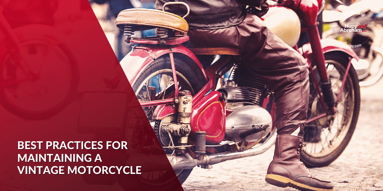 maintaining a vintage motorcycle