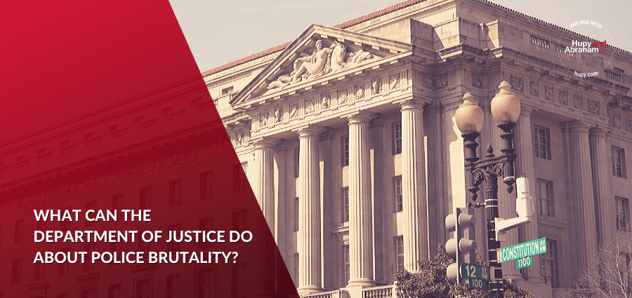 What the Department of Justice Do About Police Brutality