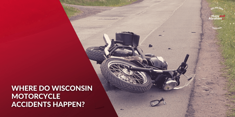 Where Do Wisconsin Motorcycle Accidents Happen?