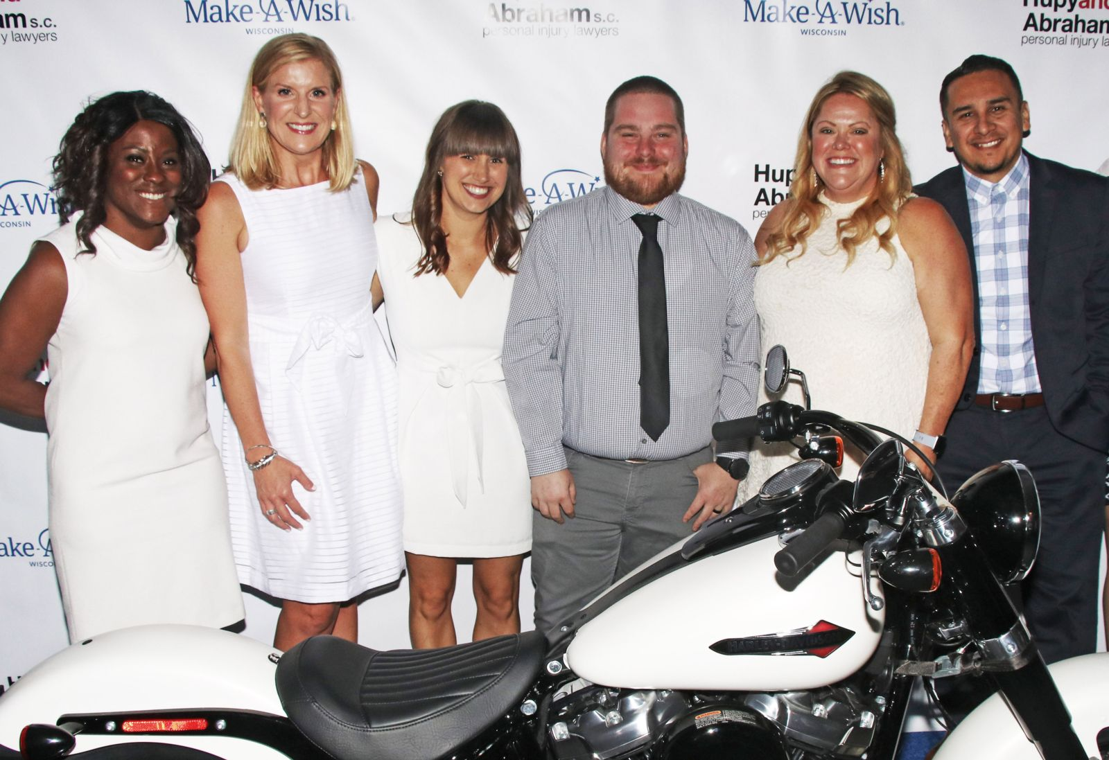 Hupy employees at Make a Wish Event