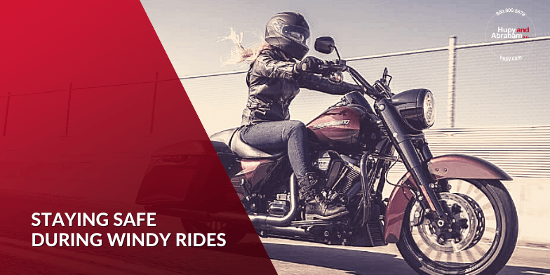 Staying Safe During Windy Rides