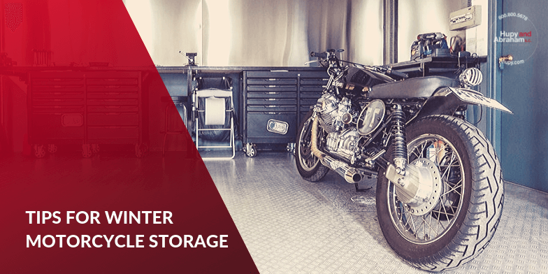 Important Steps For Winter Motorcycle Storage