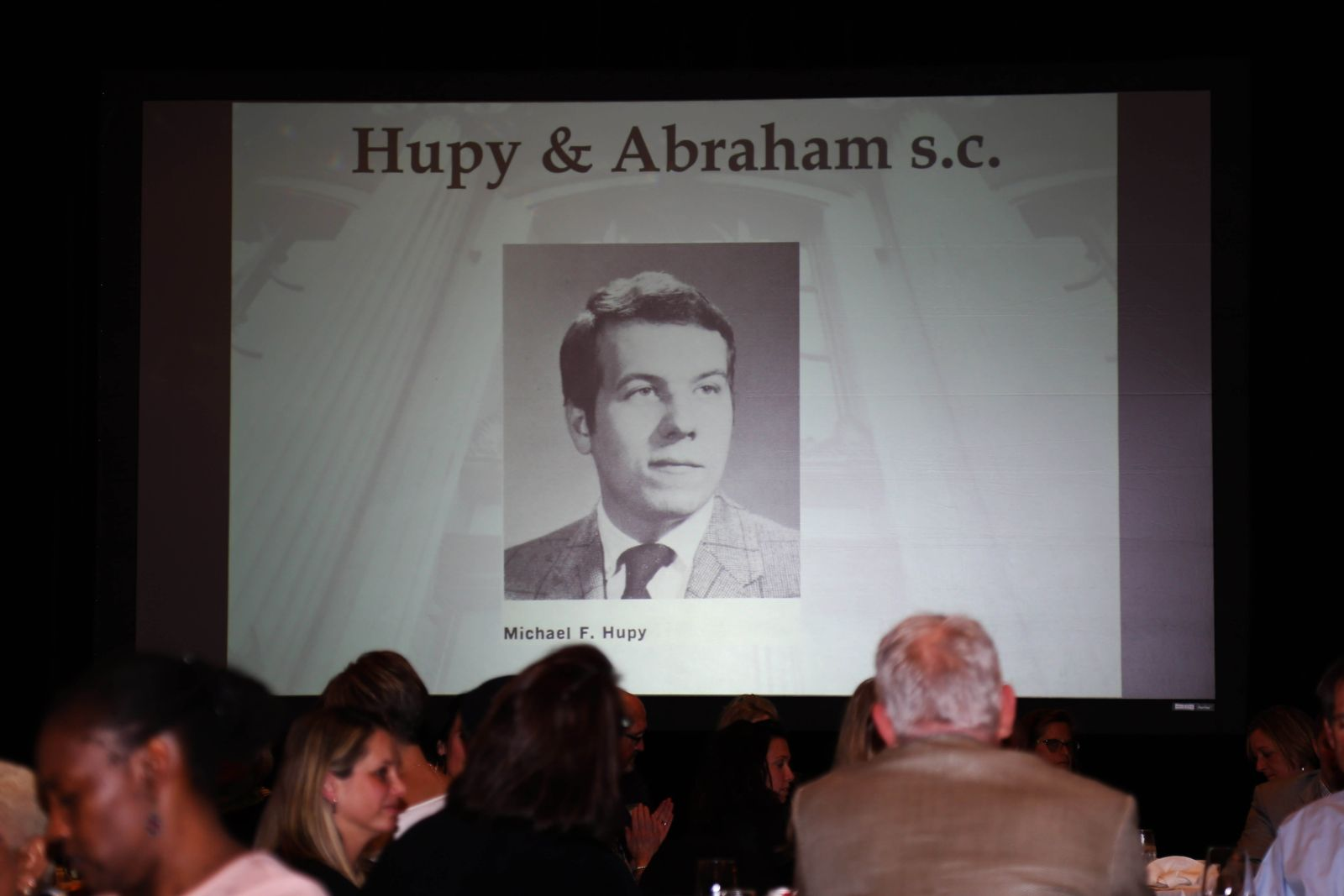Attorney Michael Hupy's photo is displayed.