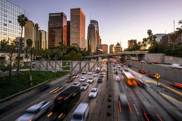 Many factors contribute to car accidents in Los Angeles