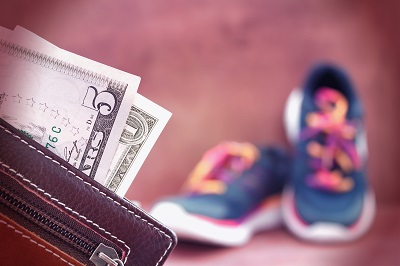Child support money in wallet going towards child expenses