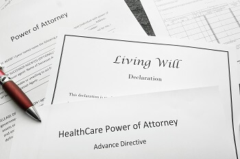 Heath Care Power of Attorney legal documents