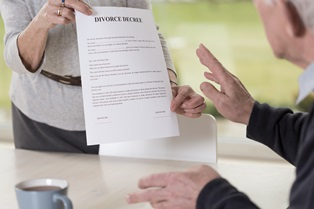 Late-life divorces
