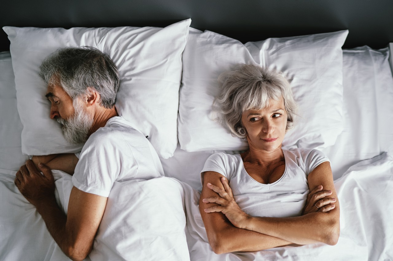 Couple going through gray divorce in need of mediation or arbitration