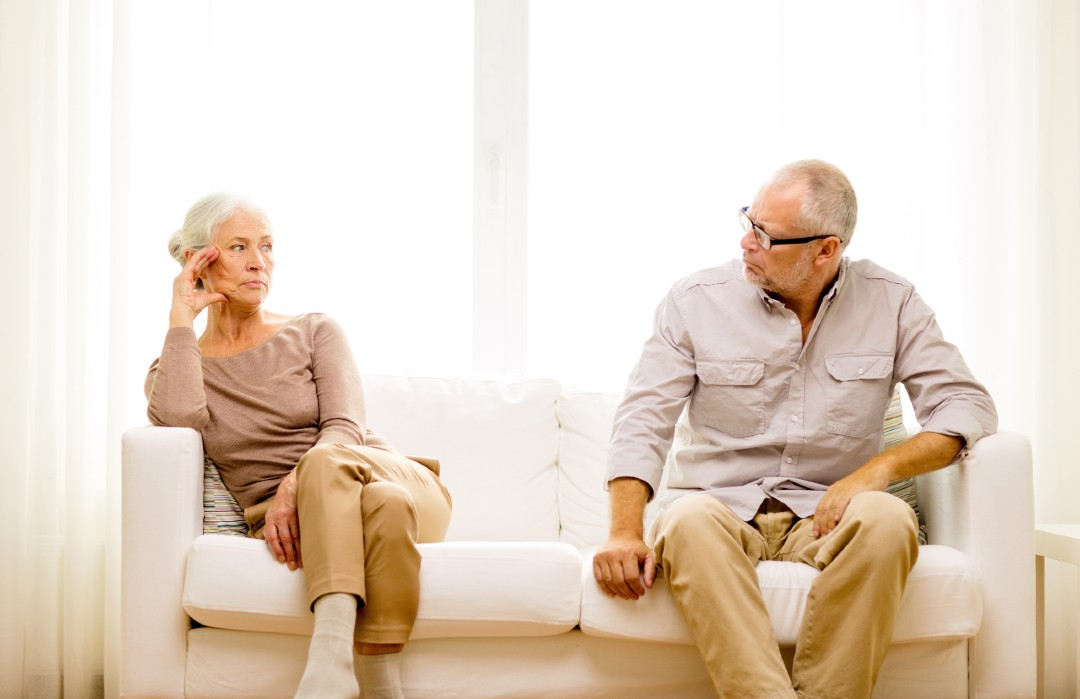 couple divorcing after being married for decades