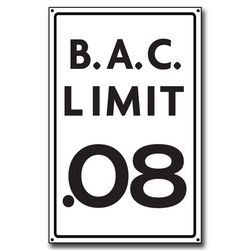 B.A.C. Limit: 0.08