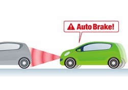 Auto Brake Technology in New Cars