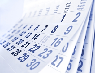 Calendar Conveying Time