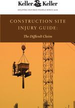 Free Construction Site Injury Guidebook