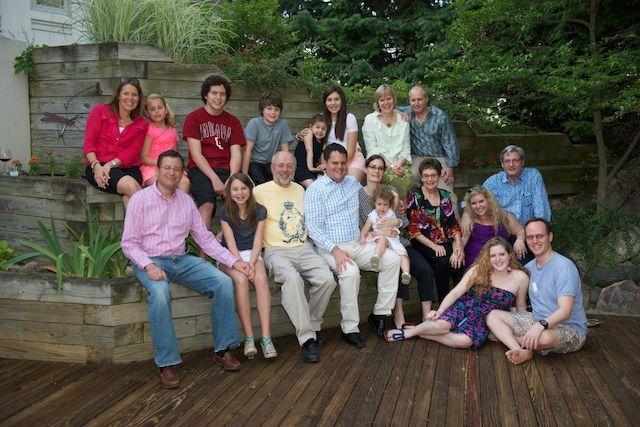 The Keller family