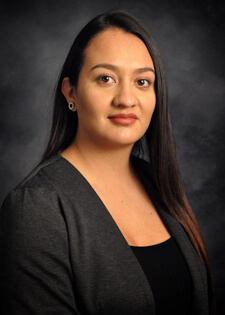 Lizdebeth Carrasco-Gallardo, winner of the 2017 Keller & Keller UNM Law Scholarship.