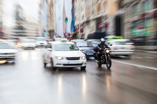 Higher Crash Risks Effect Motorcycle Riders