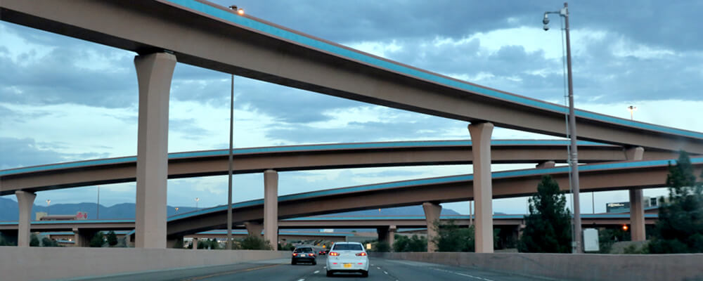 The Big I in Albuquerque is the source of many major accidents in New Mexico