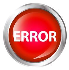 Red Truck Error Button