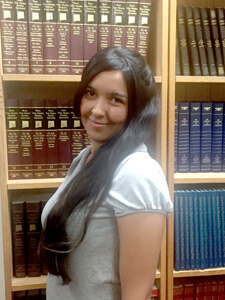 2016 Keller & Keller UNM Law School Scholarship winner Savanna Shay Duran