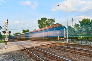 train speed and frequency have recently increased in indiana