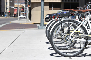 Albuquerque has been ranked in the top 50 bicycle friendly cities by Bicycle.com