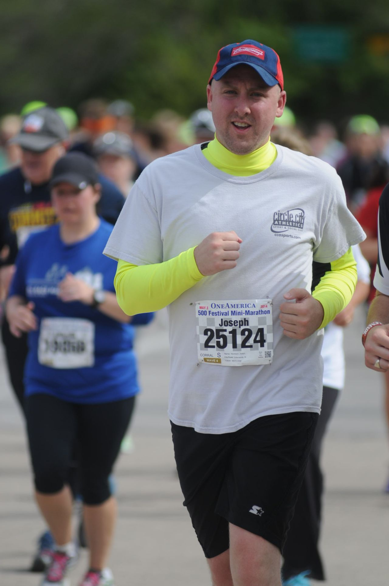 Attorney Joe Wambach Runs in Indianapolis Mini-Marathon