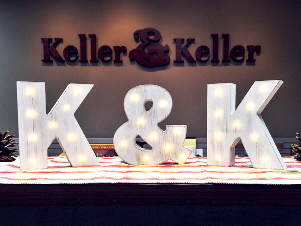 Happy Holidays from Keller & Keller