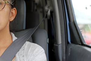Wearing a seat belt is required by New Mexico state law.