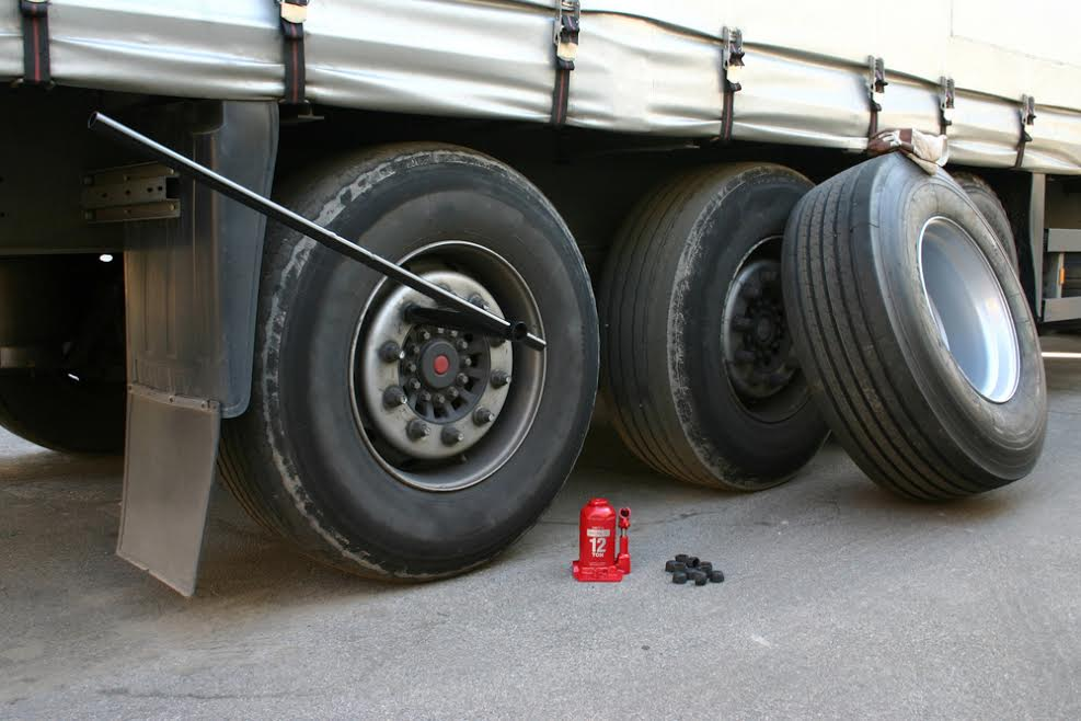 truck tire replacement