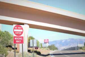 Wrong way crashes on I-25 in New Mexico are a deadly problem.