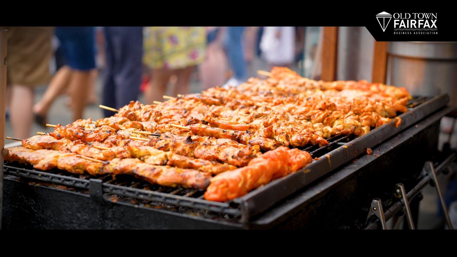 asian festival bbq